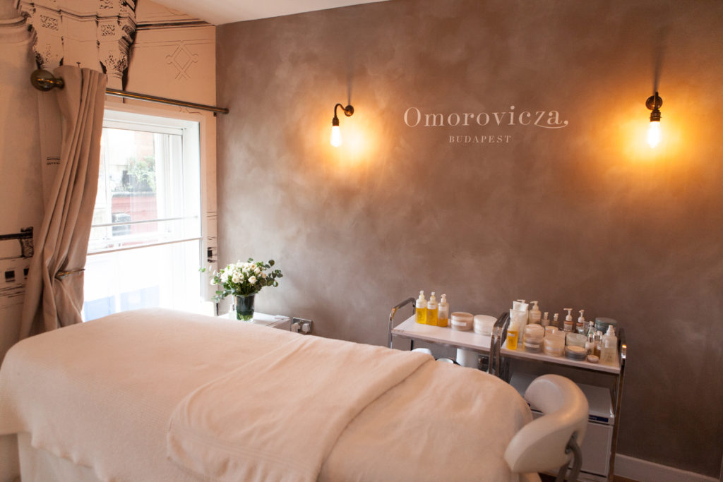 Omorovicza facial at Liberty