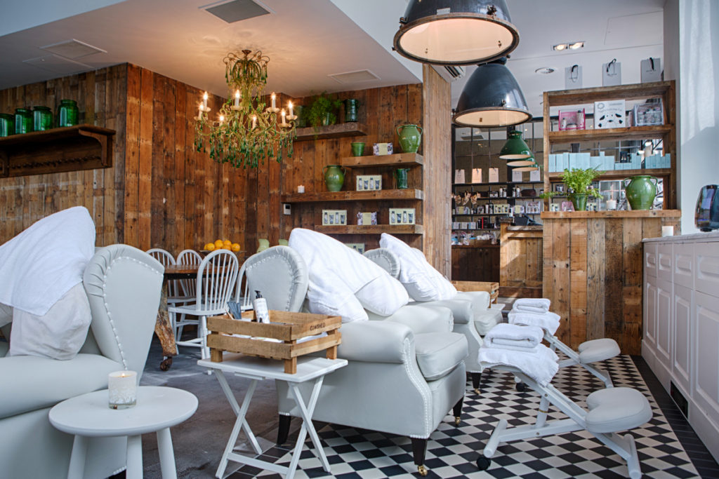 Cowshed at Shoreditch House