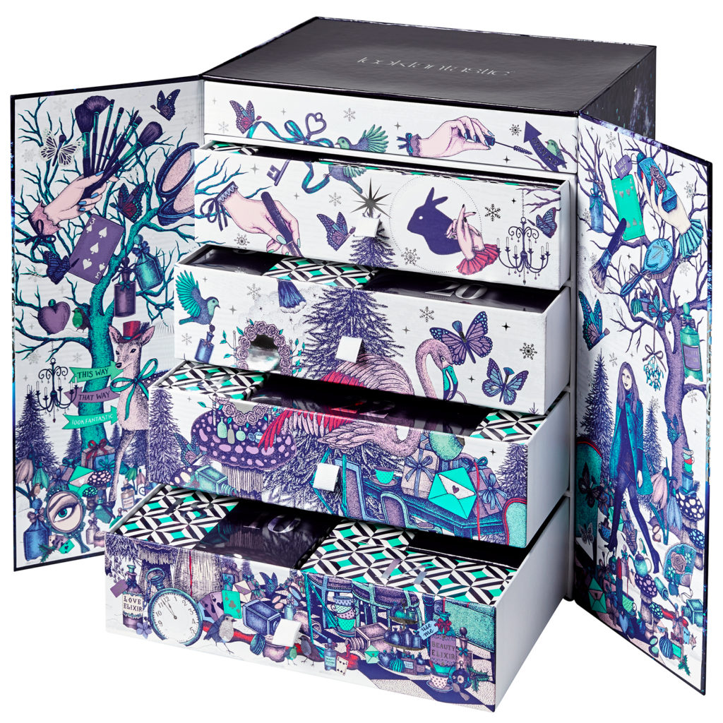 lookfantastic 'Beauty in Wonderland' advent calendar