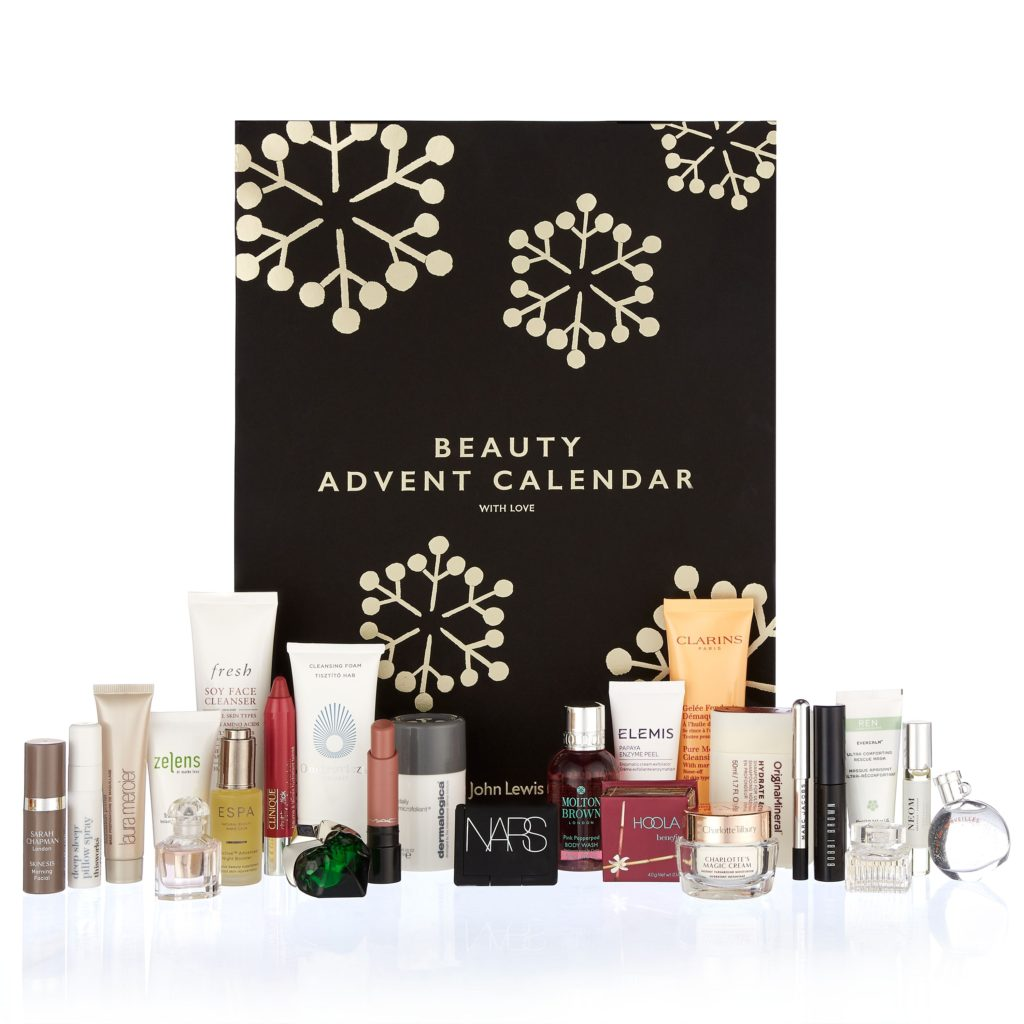 John Lewis 2017 Beauty Advent Calendar