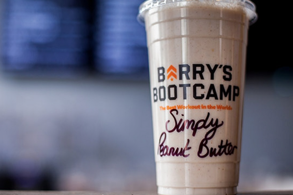 Barry's Bootcamp protein shake