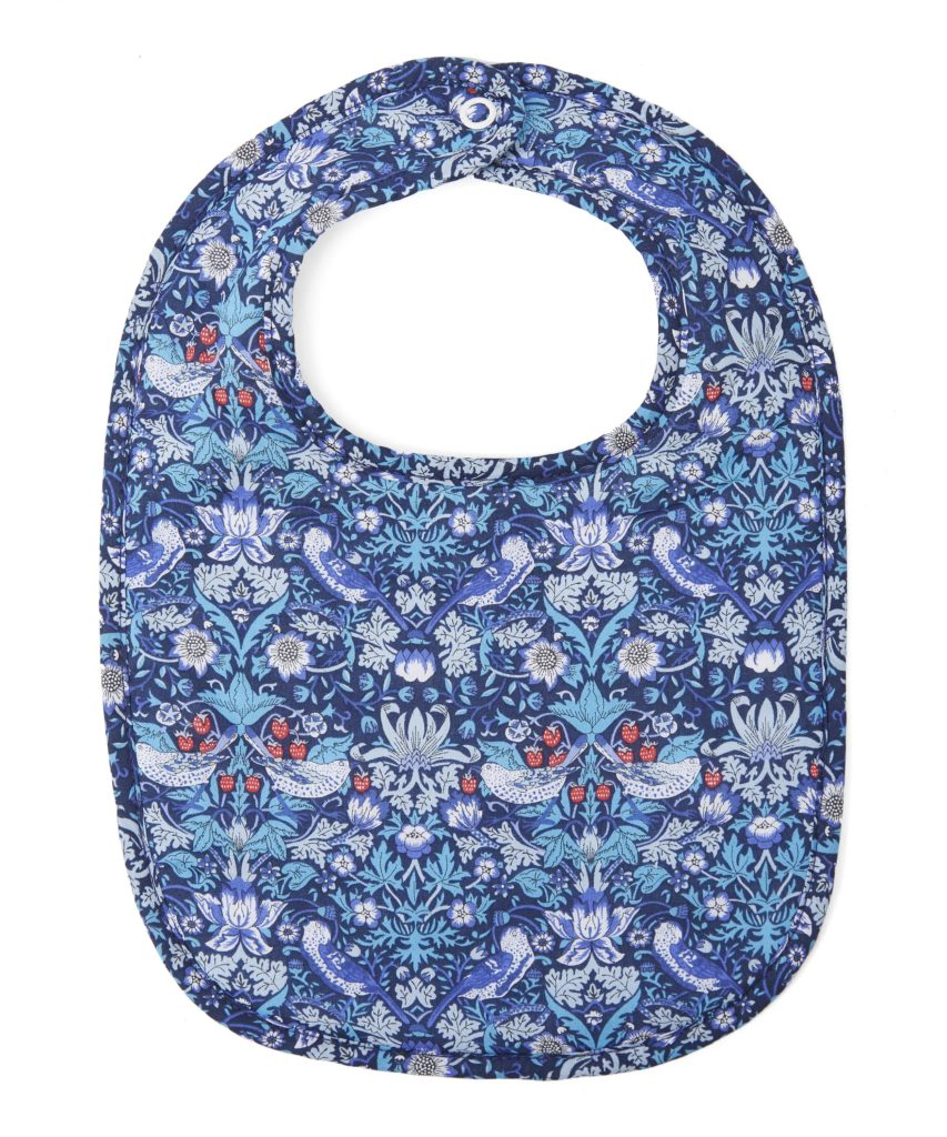 Liberty London print bib