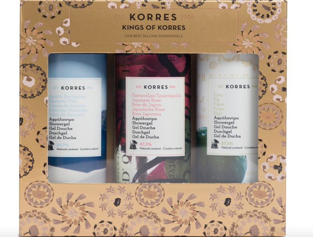 Korres Kings of Korres Christmas gift set