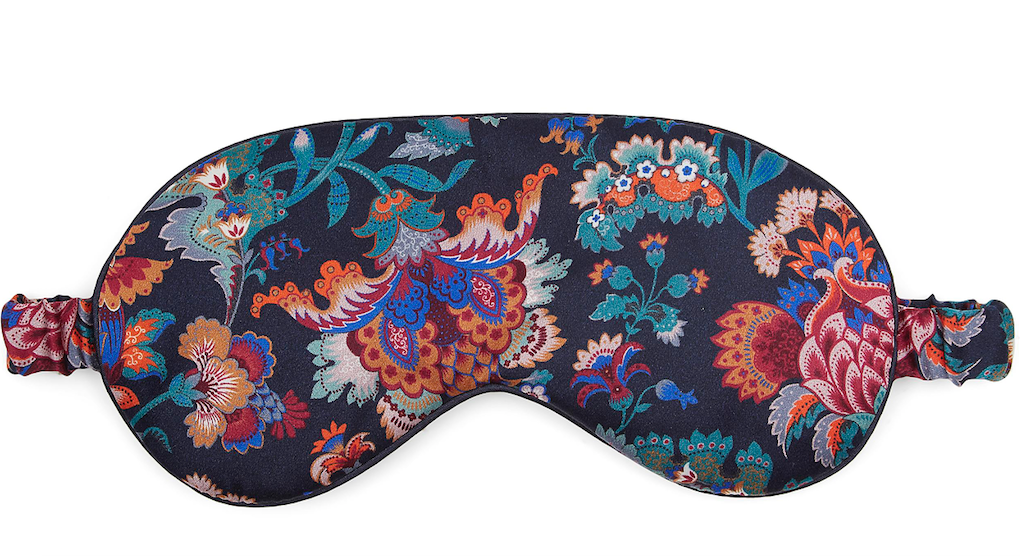 Liberty London Madeline silk eye mask