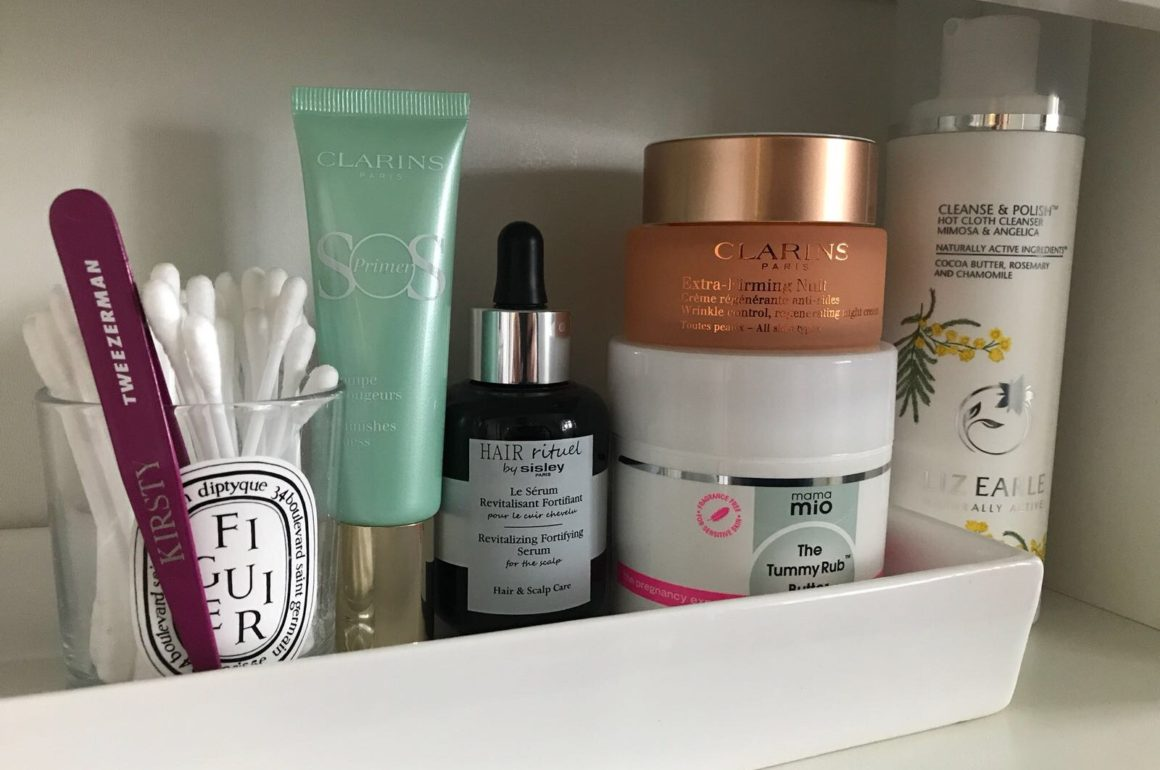 Spring beauty shelfie essentials